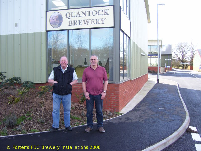 A picture of Quantock Brewery