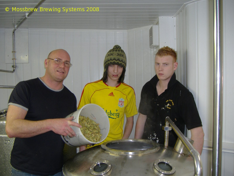A picture of the brewing plant of Redscar Brewery Ltd