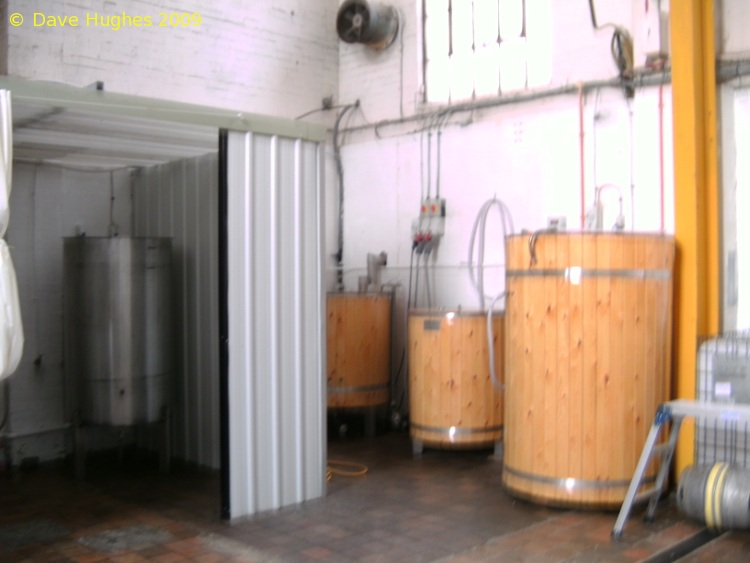 A picture of the brewing plant of Sandstone Brewery llp