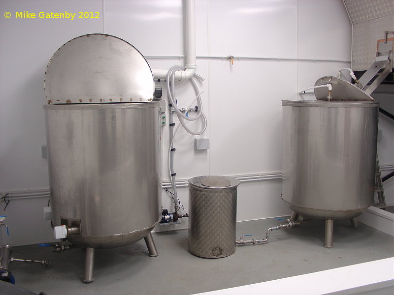 A picture of the brewing plant of Yorkshire Brewing Company Limited