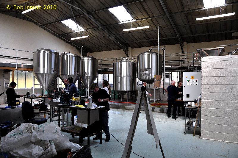 A picture of the brewing plant of Windsor & Eton Brewing Company Limited