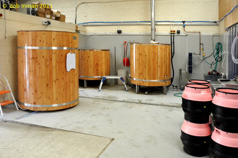 A picture of the brewing plant of The Canterbury Ales