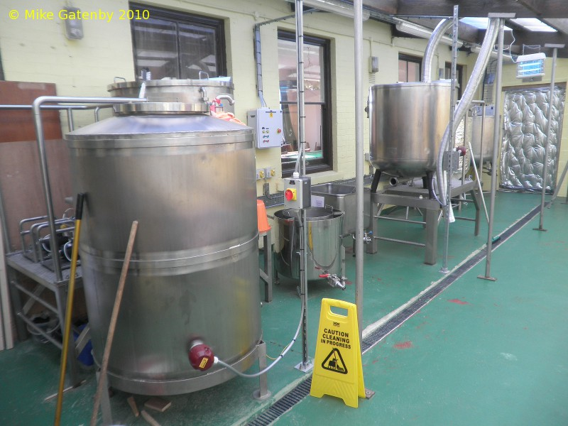 A picture of the brewing plant of The Naked Brewer