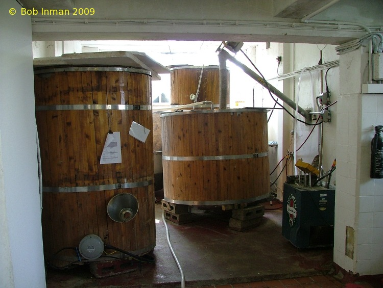 A picture of the brewing plant of Pilgrim Ales