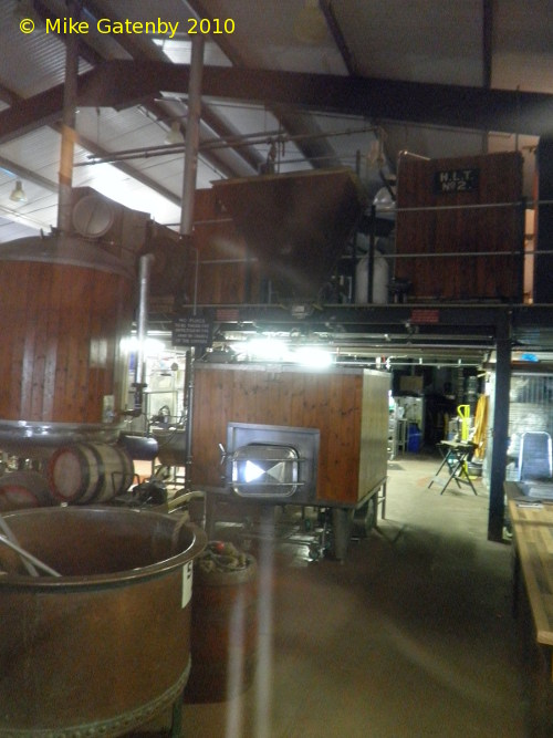 A picture of the brewing plant of Belvoir Brewery Ltd